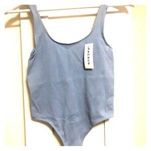 Pacsun Baby Blue Body-Suit